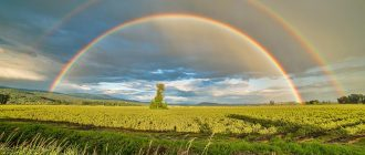 What does it mean to dream about rainbows