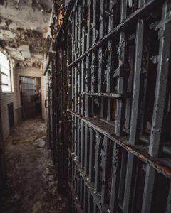 An old prison cell