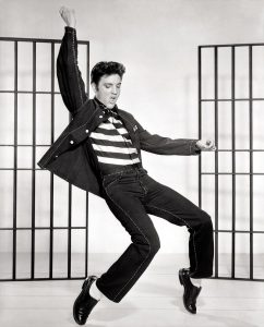 Elvis Presley is probably the most know celebrity of our time
