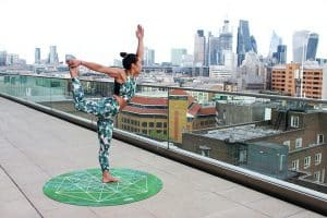 Escaping city chaos with yoga in London