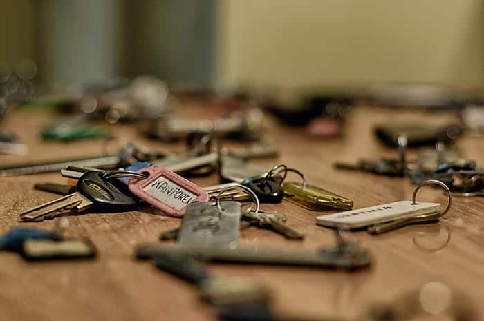 What does it mean to dream about keys
