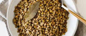 What does it mean to dream about lentils